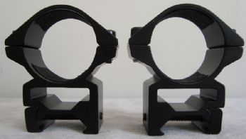 Nikko Match Mounts mk2 30mm Weaver/Picatinny Base Medium NSMM30WM
